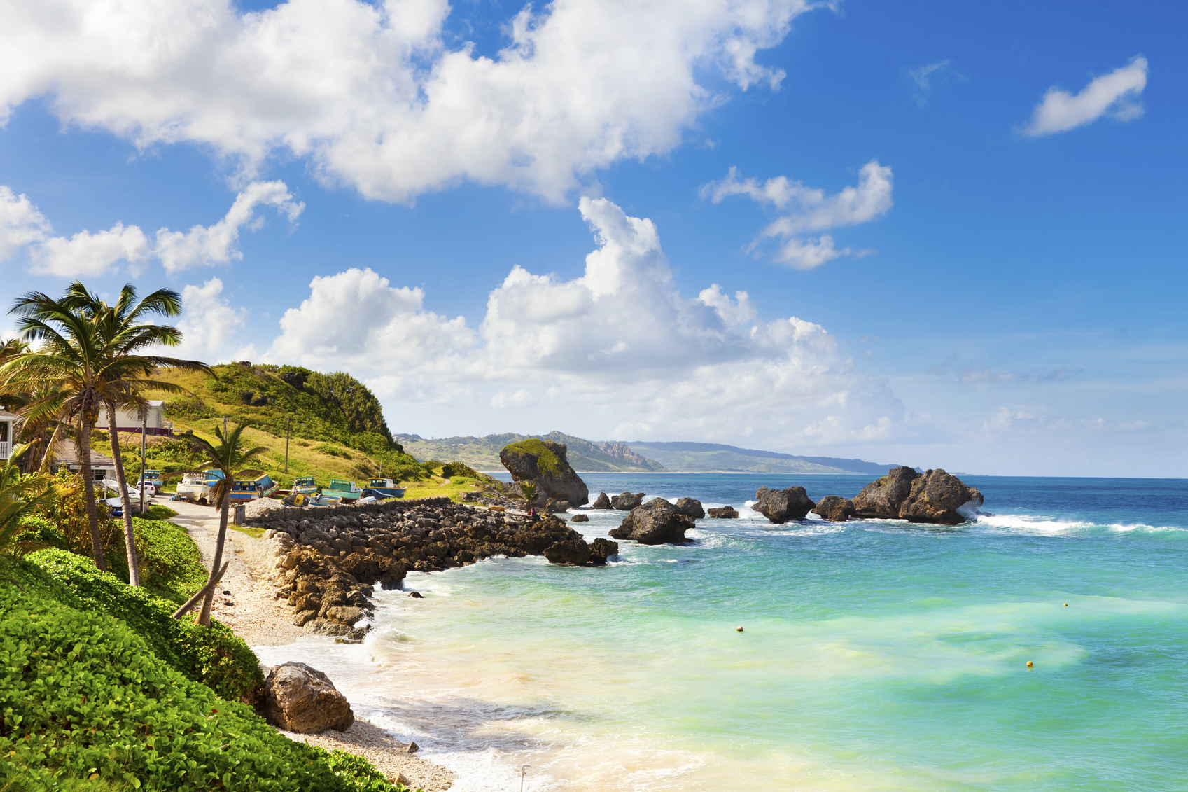 Bathsheba, East coast of Barbados, Lesser Antilles.